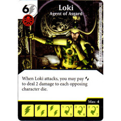 Loki - Agent of Asgard (Die & Card Combo)