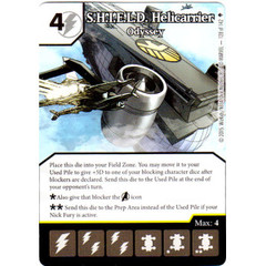 S.H.I.E.L.D. Helicarrier - Odyssey (Die & Card Combo)