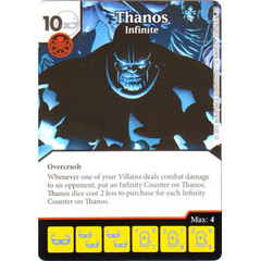 Thanos - Infinite (Die & Card Combo)