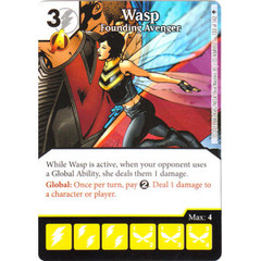Wasp - Founding Avenger (Die & Card Combo)