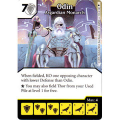 Odin - Asgardian Monarch (Card Only)