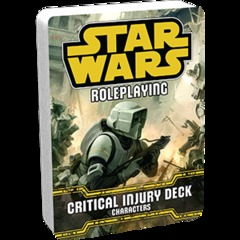 Critical Injury Deck - Characters