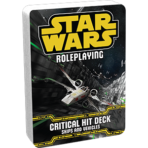 Critical Hit Deck - Ships and Vehicles