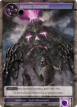 Mount Immortal - MOA-048 - C