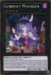 Downerd Magician - PGL2-EN047 - Gold Rare - Unlimited Edition