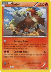 Entei - 14/98 - Rare on Channel Fireball