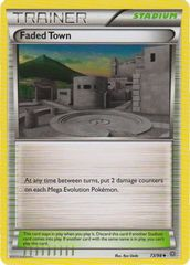 Faded Town - 73/98 - Uncommon on Channel Fireball