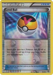 Level Ball - 76/98 - Uncommon - Reverse Holo