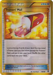 Trainers' Mail - 100/98 - Secret Rare