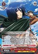 Resisting Fate Mikasa - AOT/S35-E057 - RR