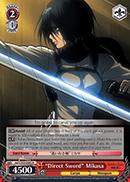 Direct Sword Mikasa - AOT/S35-E063 - R