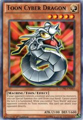Toon Cyber Dragon - CORE-EN043 - Rare - 1st Edition