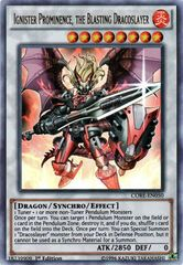 Ignister Prominence, the Blasting Dracoslayer - CORE-EN050 - Ultra Rare - 1st Edition