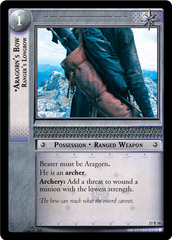 Aragorn's Bow, Ranger's Longbow - 15R56