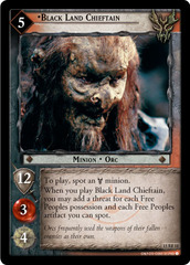 Black Land Chieftain - 15RF11 - Foil