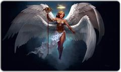 Alianna, Angel of Wisdom Playmat