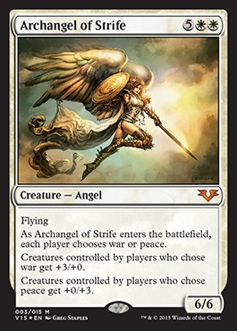Archangel of Strife - Foil