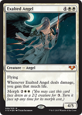 Exalted Angel - Foil