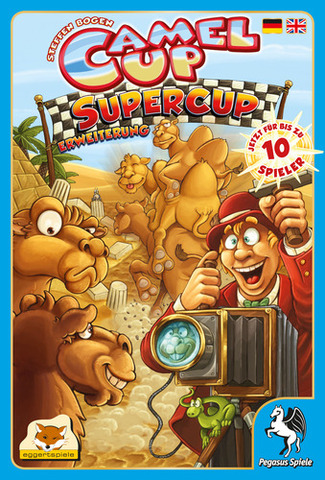 Camel Up: Super Cup Expansion