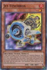Jet Synchron - SDSE-EN001 - Super Rare - 1st Edition on Channel Fireball