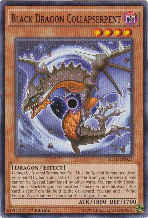 Black Dragon Collapserpent - SDSE-EN023 - Common - 1st Edition
