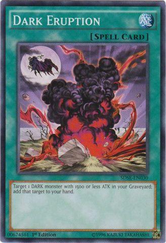 Dark Eruption - SDSE-EN030 - Common - 1st Edition