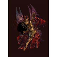Persian Fey - (Artists of Magic) Standard Sleeves - 80 ct