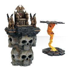 Magewrath Throne and Balewind Vortex