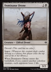 Dominator Drone on Channel Fireball