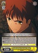 Confronting a Servant, Shirou - FS/S34-E013 - U