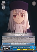 Warning Before the Battle, Illya - FS/S34-E087 - C