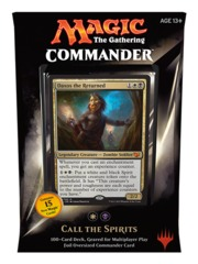 MTG Commander 2015: Call the Spirits Deck (White/Black)