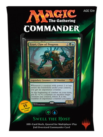 Commander 2015: Swell the Host (Blue/Green)