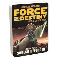 Star Wars: Force & Destiny: Soresu Defender Specialization Deck