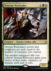 Veteran Warleader - Foil