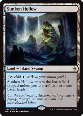 Sunken Hollow - Foil