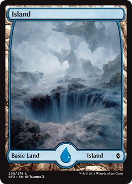 Island (259) (Full Art)