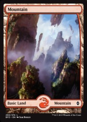 Mountain (Full Art) - Battle for Zendikar - 266