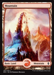 Mountain (Full Art) - Battle for Zendikar - 267