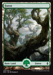 Basic Forest (274) (Full Art)