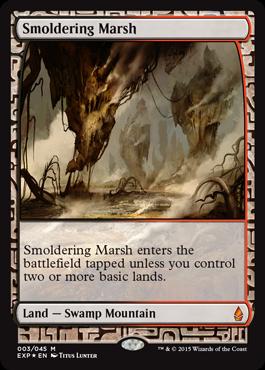 Smoldering Marsh - Foil
