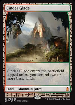 Cinder Glade (Masterpiece Foil)