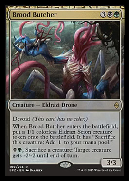 Brood Butcher - Foil