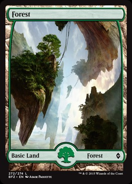 Forest (272) - Foil (Full Art)