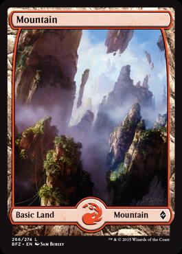 Mountain (266) - Foil - Full Art