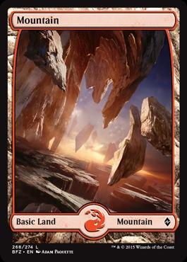 Mountain (268) - Foil (Full Art)