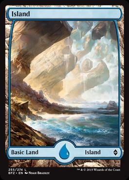 Island (255) - Foil (Full Art)