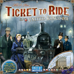Ticket to Ride Map Collection: Volume 5 - United Kingdom & Pennsylvania (In-Store Sales Only)