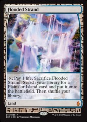 Flooded Strand - Foil (Zendikar Expedition: Battle for Zendikar Lands)