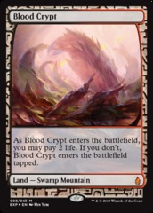 Blood Crypt - Foil (Zendikar Expedition: Battle for Zendikar Lands)